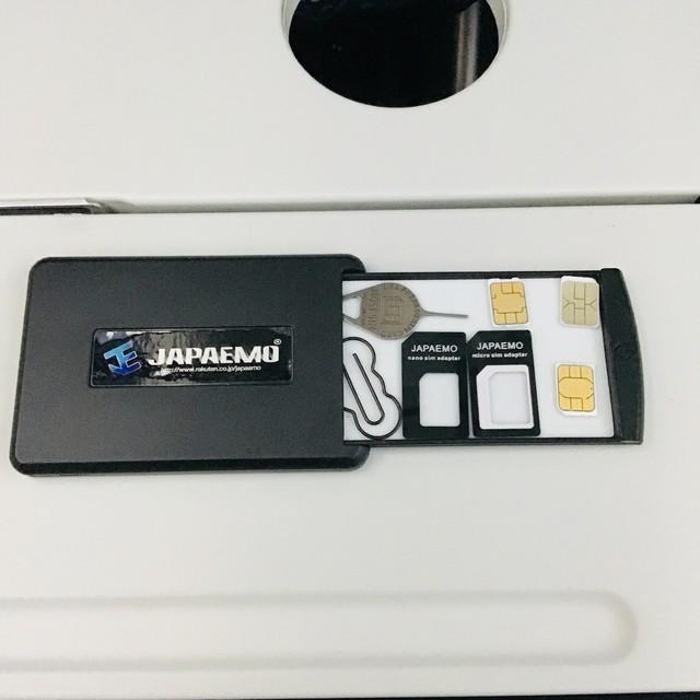SIMカードを収納するケース