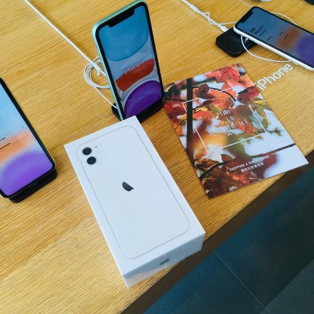 iPhone 11の箱