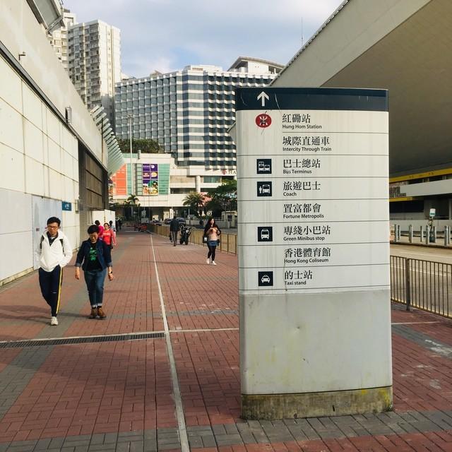 ホンハム駅の地上