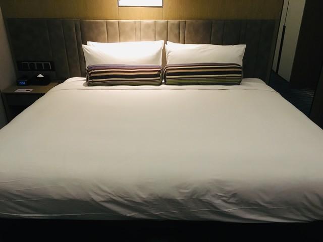 アロフト広州天河のベッド