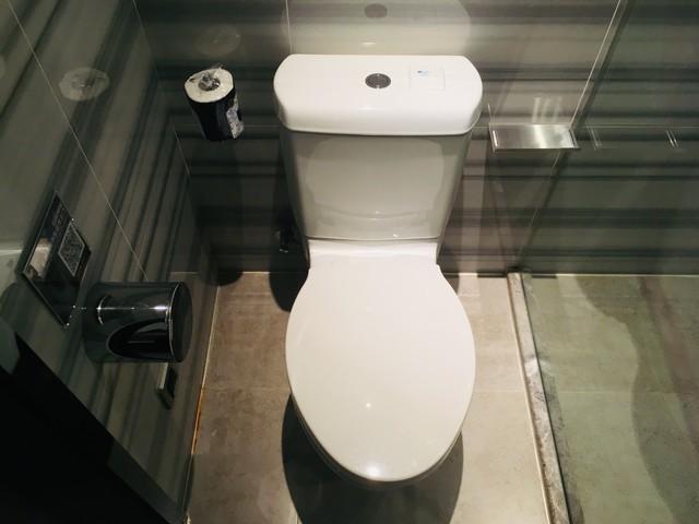 アロフト広州天河のトイレ