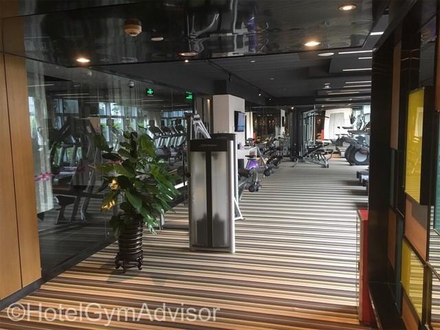 Gym at Aloft Guangzhou Tianhe
