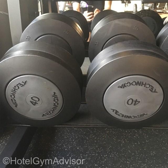 40kgのダンベル