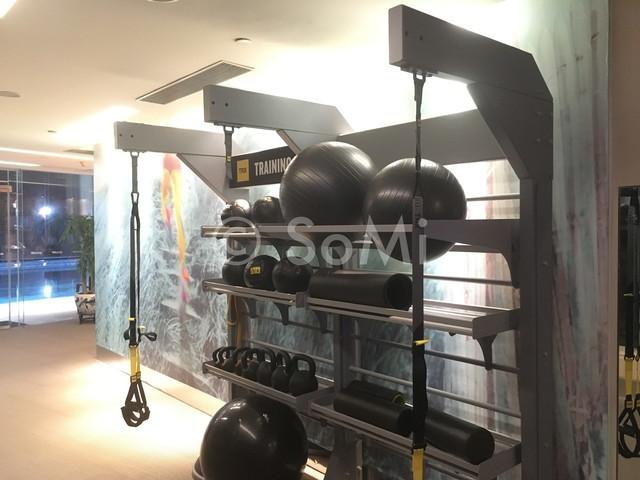TRX, Balance balls, Kettle bells