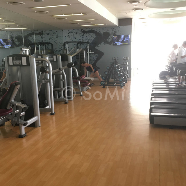 Inside of the gym at Sheraton Incheon