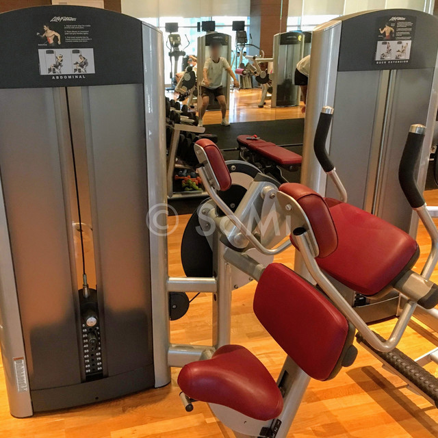 Abdominal machine in Stanford Hotel Seoul