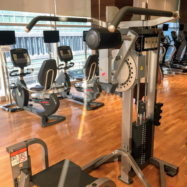 Weight  machine in Stanford Hotel Seoul