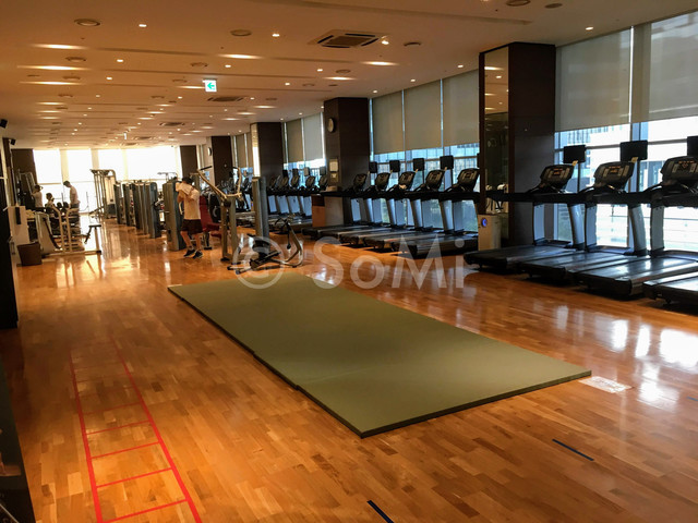 Gym in Stanford Hotel Seoul