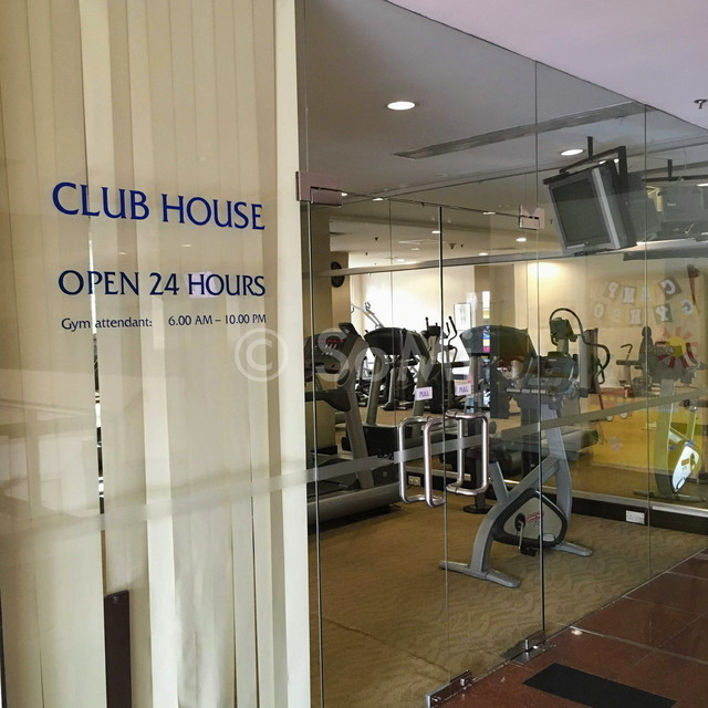 Gym entrance at Somerset Chancellor Court Ho Chi Minh City