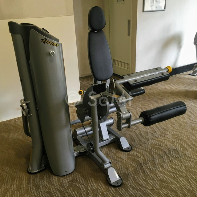 Leg curl machine at Somerset Chancellor Court Ho Chi Minh City