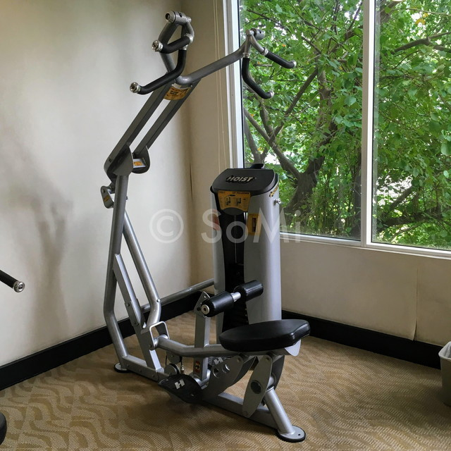 Lat pull down machine at Somerset Chancellor Court Ho Chi Minh City