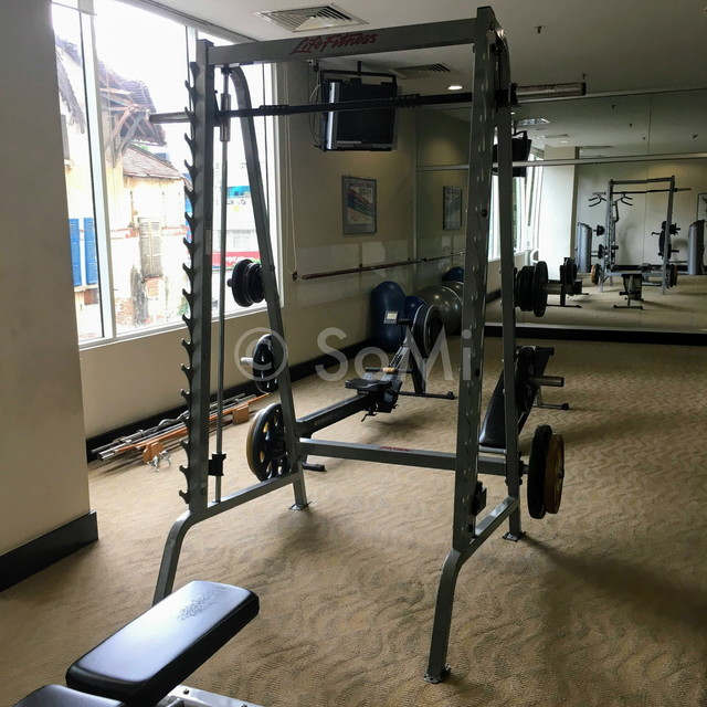 Smith machine at Somerset Chancellor Court Ho Chi Minh City