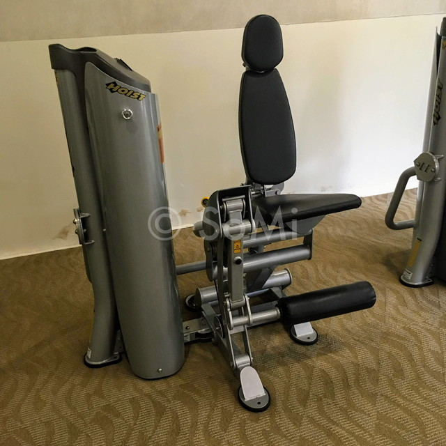 Leg extension machine at Somerset Chancellor Court Ho Chi Minh City