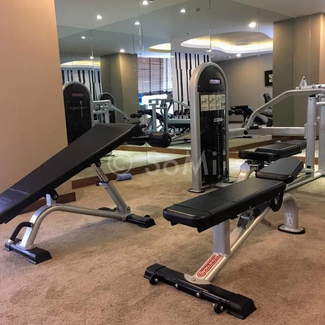 Gym at Muong Thanh Grand Saigon Centre Hotel