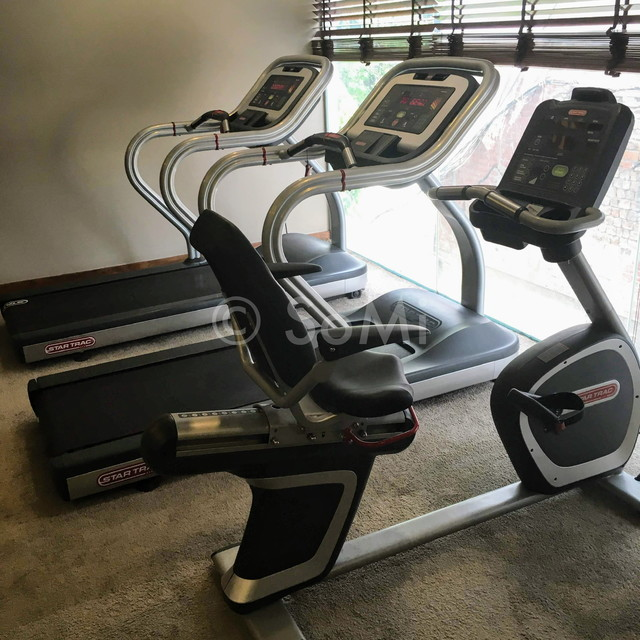 Cardio machines at Muong Thanh Grand Saigon Centre Hotel