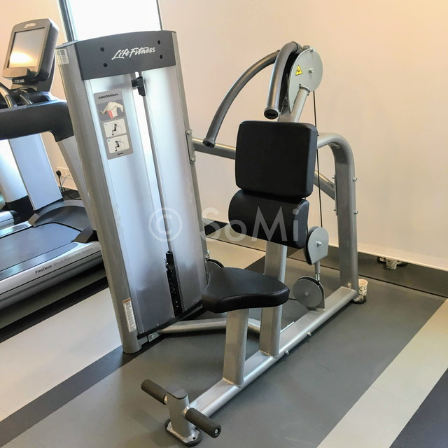 Abdominal machine in Mai House Saigon