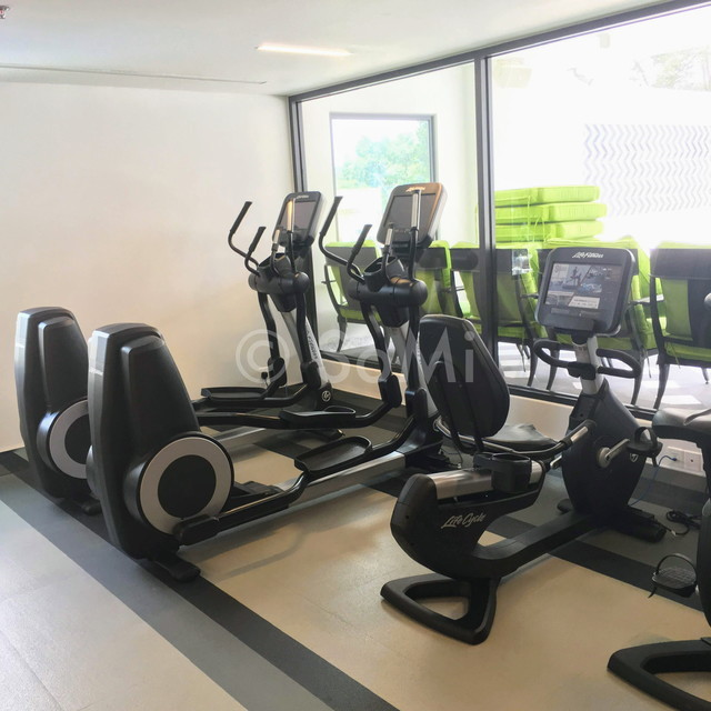Cardio machines in Mai House Saigon