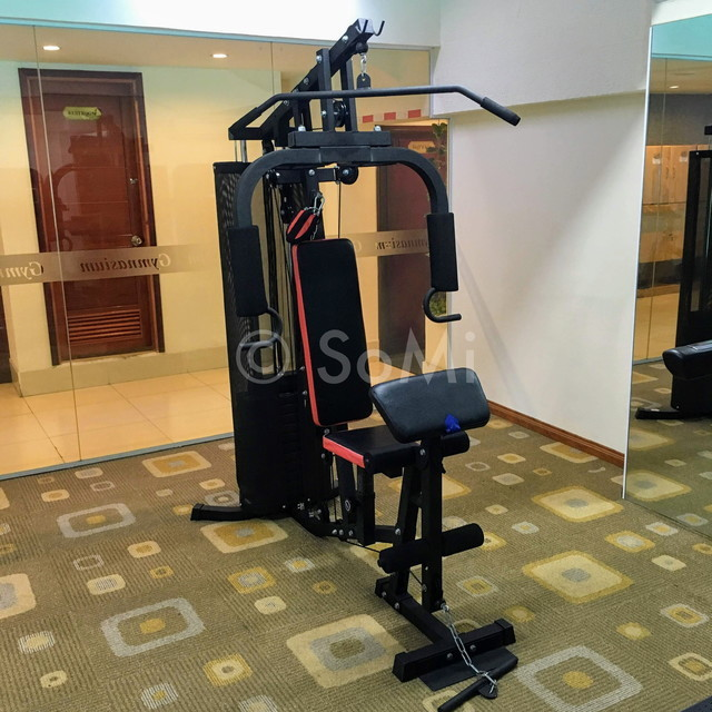 Multi weight machine at Royal Hotel Saigon