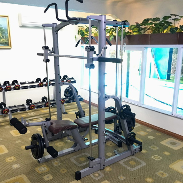 Smith machine at Royal Hotel Saigon