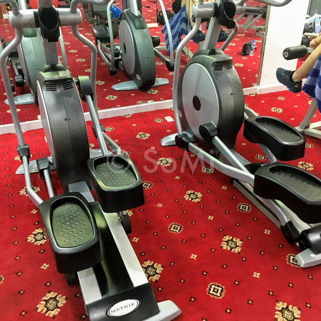 Cardio machines at Grand Hotel Saigon