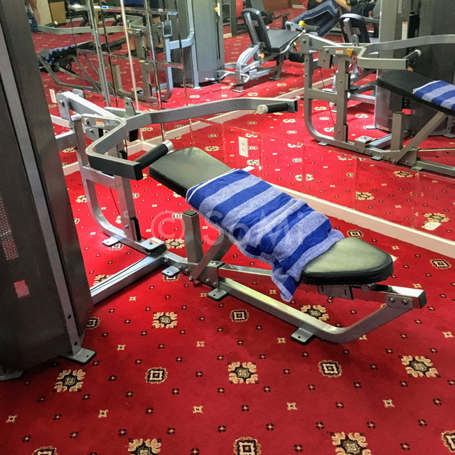 Chest press machine at Grand Hotel Saigon