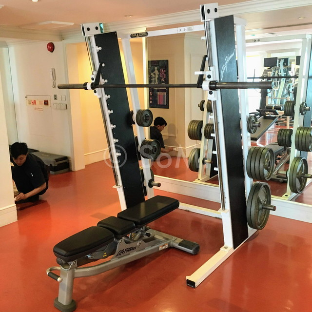 Smith machine at Renaissance Riverside Hotel Saigon