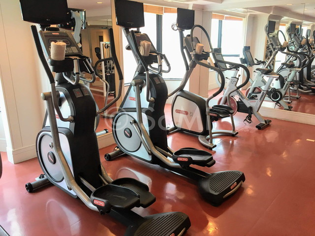 Cardio machines at Renaissance Riverside Hotel Saigon