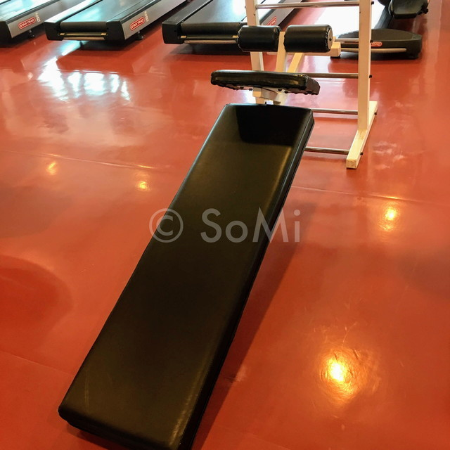 Abdominal bench at Renaissance Riverside Hotel Saigon
