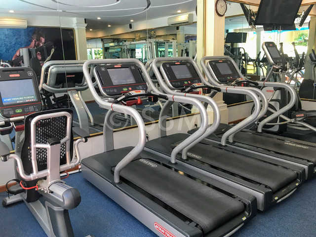 Cardio machines at Hotel Majestic Saigon