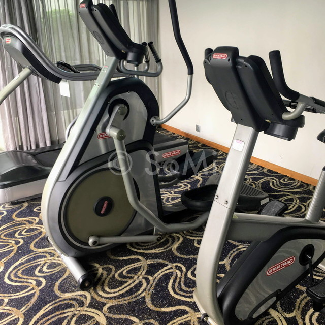 Cardio machines at Liberty Central Saigon Center Hotel