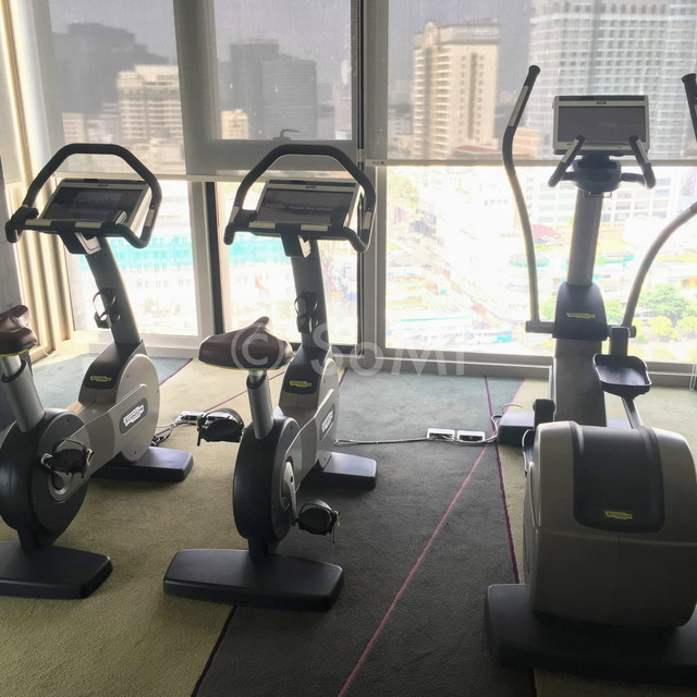 Cardio machines at Liberty Central Saigon Citypoint