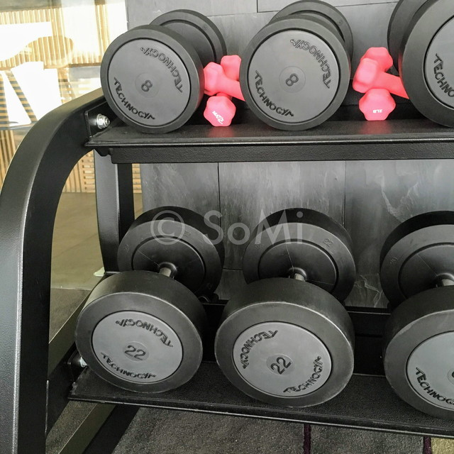 Dumbbells at Liberty Central Saigon Citypoint