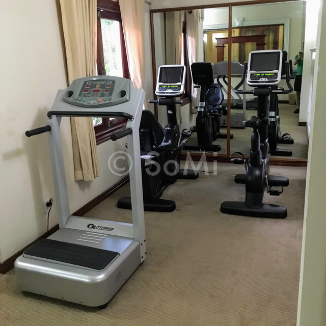 Cardio machines at Hotel Continental Saigon