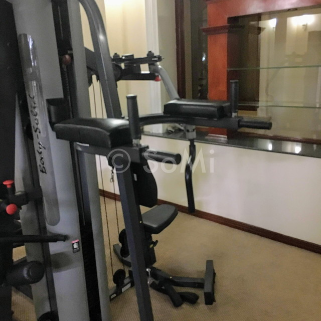 Multi weight machine at Hotel Continental Saigon