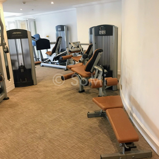 Gym at Park Hyatt Saigon