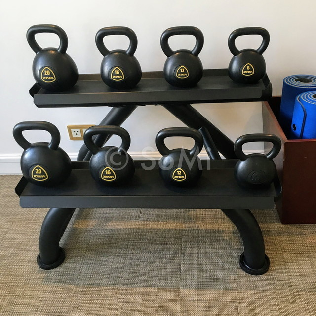 Kettlebells at Park Hyatt Saigon