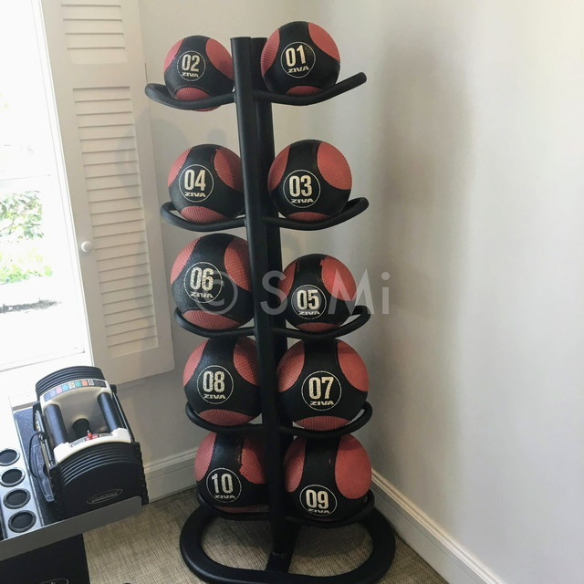 Medicine balls at Park Hyatt Saigon