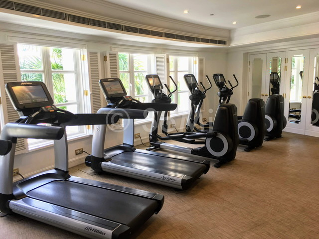 Cardio machines at Park Hyatt Saigon