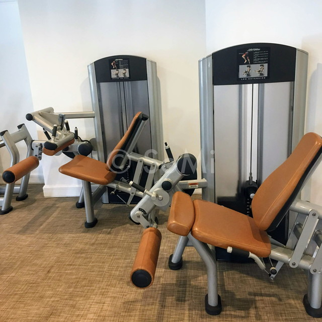 Weight machines at Park Hyatt Saigon