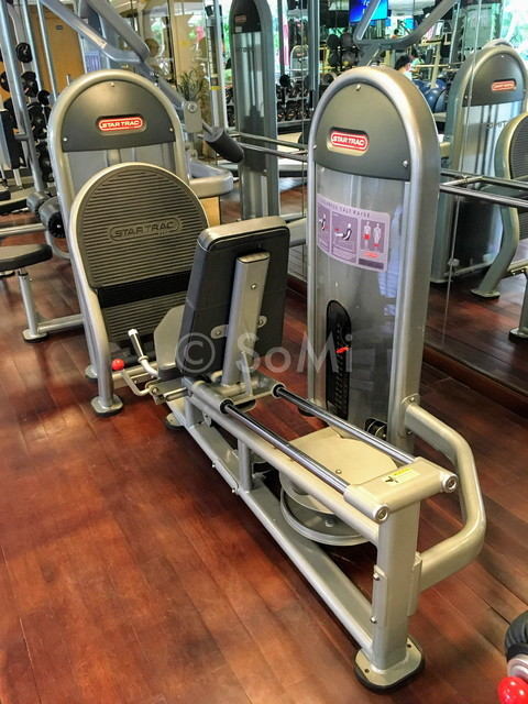 Leg press machine at Caravelle Saigon