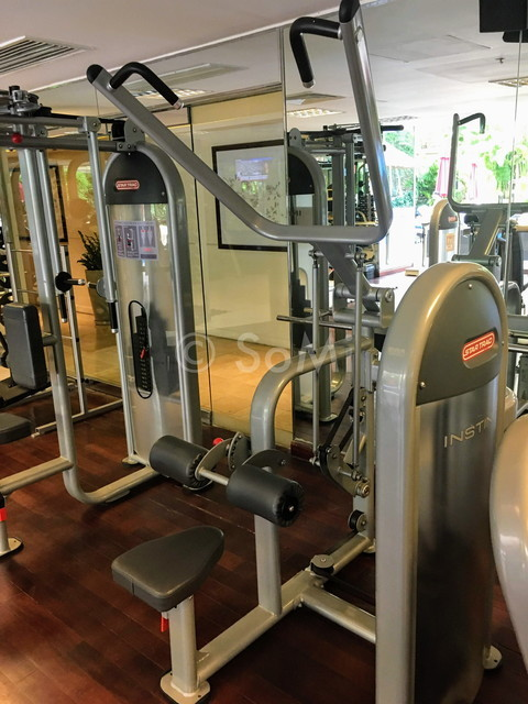 Lat pull down machine at Caravelle Saigon