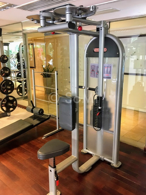 Pectoral fly/Rear deltoid machine at Caravelle Saigon
