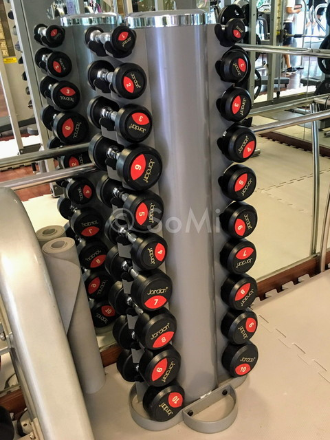 Dumbbells at Caravelle Saigon