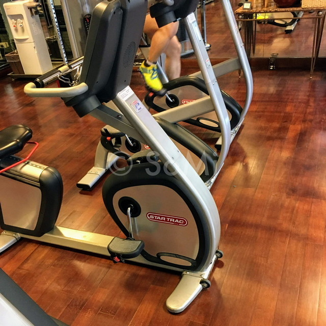 Cardio machines at Caravelle Saigon
