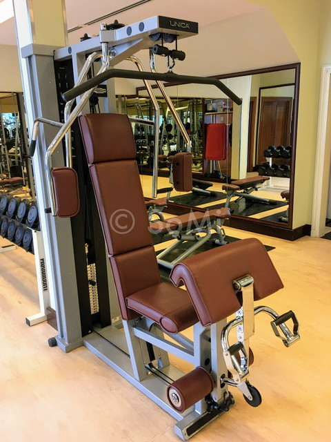 Multi weight machine at Sheraton Saigon