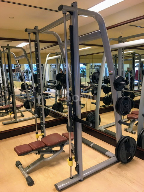 Smith machine at Sheraton Saigon