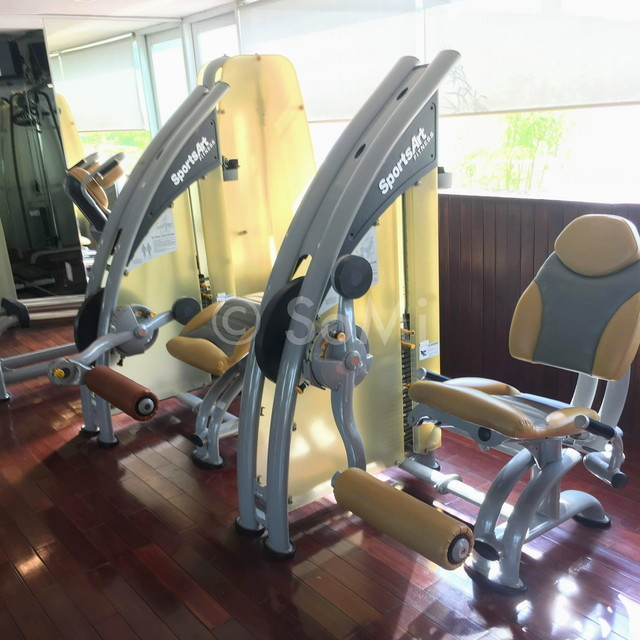 Leg extension and Leg curl machine
