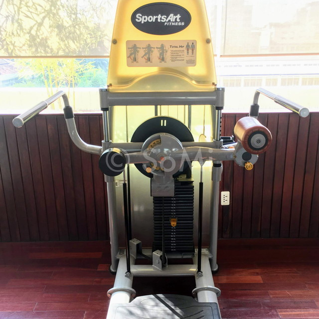 Hip adduction/abduction machine at Rex Hotel Saigon