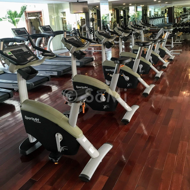 Cardio machines at Rex Hotel Saigon