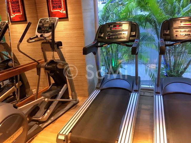 Cardio machines in Harmony Saigon Hotel & Spa